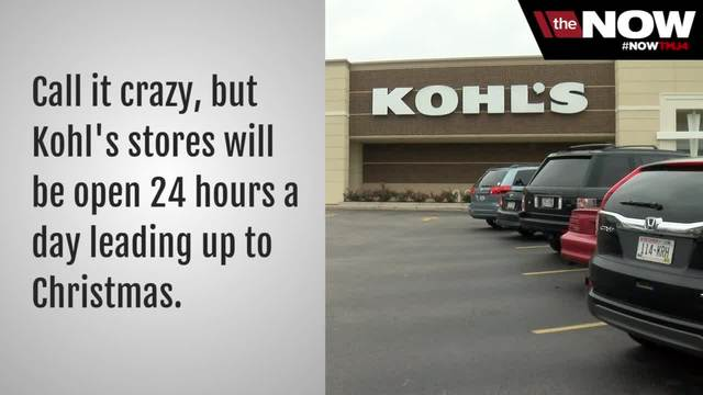 kohls open 24 hours over the last 4 days before christmas - Is Kohls Open On Christmas Day