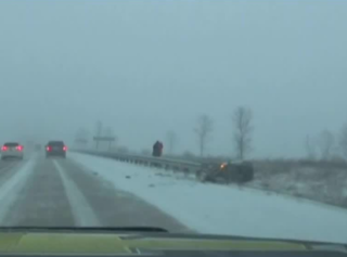 28 accidents on Sheboygan Co. roads in storm