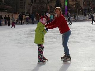 Slice of Ice skating rink opens Friday