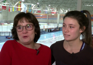 Bonnie Blair's daughter gunning for the Olympics