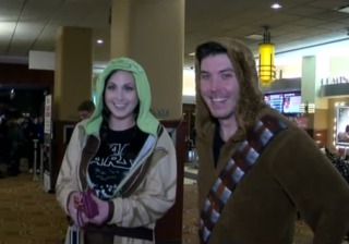 Fans thrilled with new Star Wars film