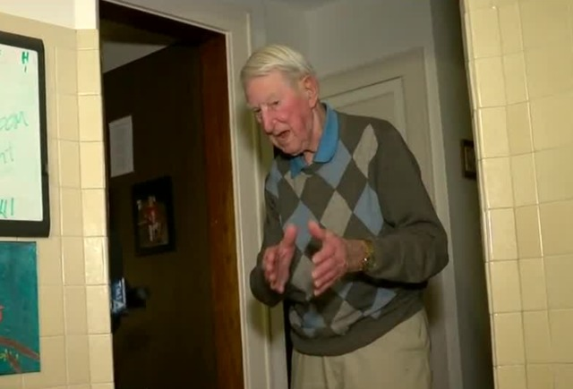 WWII vet and daughter fight off burglar
