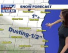 Flurries possible early, warmer later in the day
