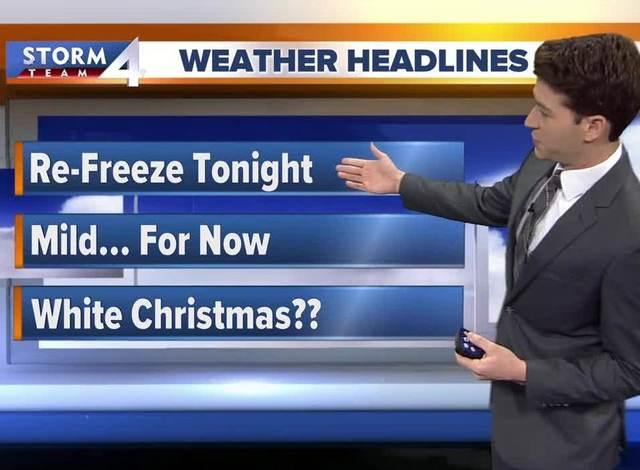 Mild temperatures continue this weekend