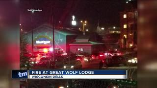 Guests Evacuate After Fire In Room At Great Wolf Lodge In