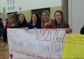 Shorewood students raise funds for veterans