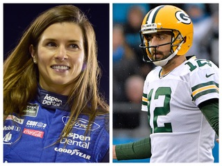 Danica Patrick: 'I'm the biggest Packers fan'