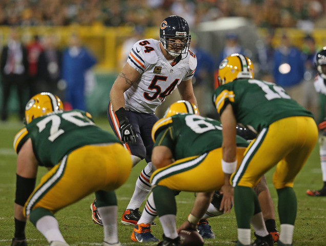 rodgers   u0026 39 brian urlacher should be a first-ballot hall of famer u0026 39
