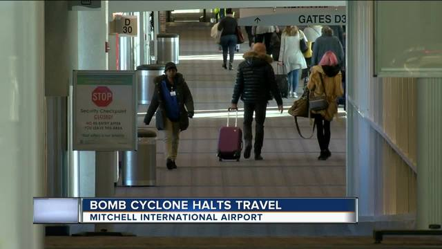 Travel nightmare: Winter storm wipes out thousands of flights