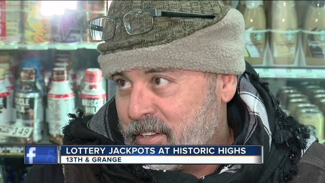 Numbers drawn for $570 million Powerball jackpot