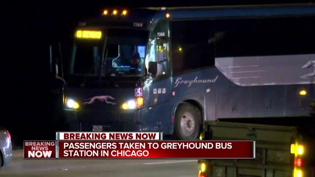 Person in custody after 'possible hostage situation' on Greyhound; No injuries reported
