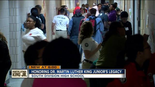 Nation marks MLK Day with community service