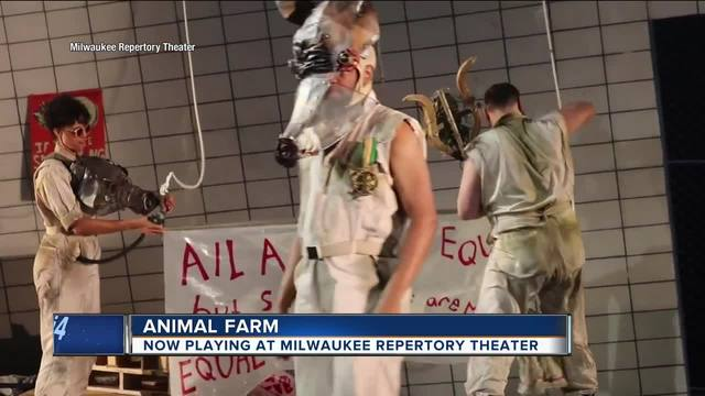 animal farm relevant today A classic story remains incredibly relevant in the world premiere stage adaptation of george orwell's animal farm.
