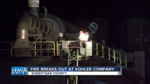 Building at Kohler Co. catches fire - TMJ4 Milwaukee, WI