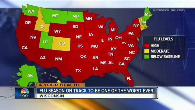 Flu Season Death Rate At Epidemic Level — CDC