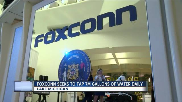 Foxconn putting United States headquarters in Milwaukee