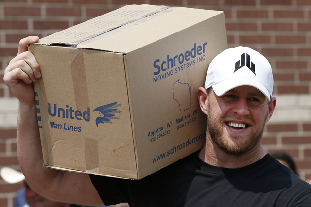 JJ Watt named Walter Payton Man of the Year