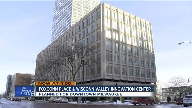 Foxconn placing United States headquarters in Milwaukee