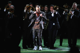 WI students played w/ JT at the Super Bowl