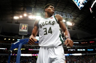 Giannis gets wheel of cheese for his birthday