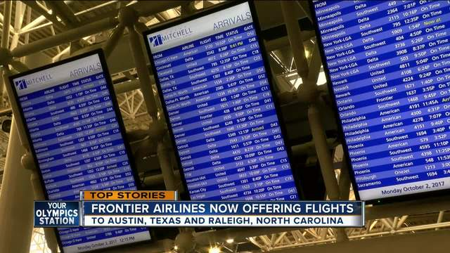 Frontier Airlines To Begin $39 Flights From Birmingham