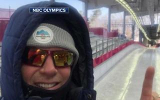 WI native NBC photojournalist working Olympics