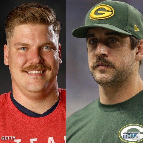 Curler Quarterback Share A Mustache Bond