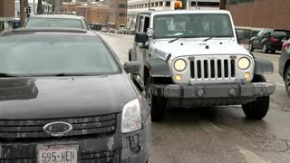 15th St. received most winter parking tickets