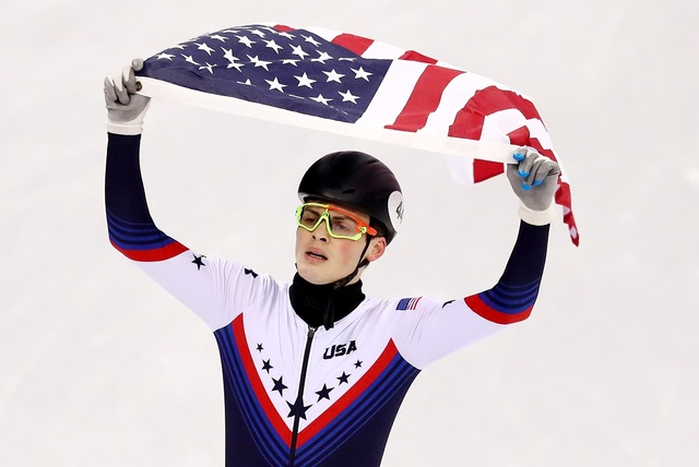 Krueger's silver ends United States speedskating medal drought
