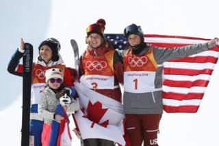 Sigourney takes bronze in halfpipe skiing