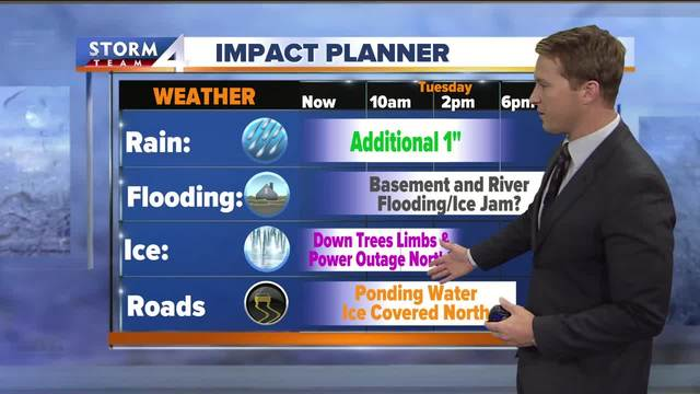 Wednesday's Wake-Up Weather: Icy with freezing rain
