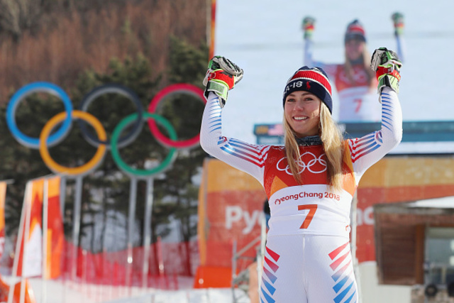 Lady luck smiles on 'old man' Myhrer at last for slalom gold