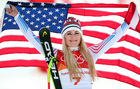 Vonn scatters grandfather's ashes in South Korea