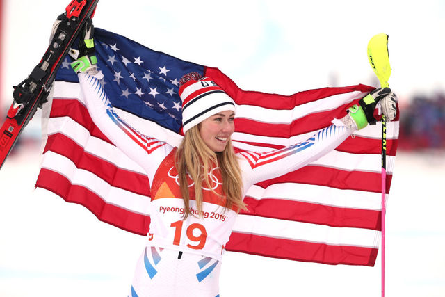 Lindsey Vonn makes her Olympic return