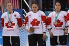 Canada's Jocelyne Larocque forced to wear medal