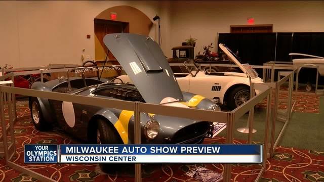 Milwaukee Auto Show Kicks Off Saturday TMJ Milwaukee WI - Car show milwaukee 2018