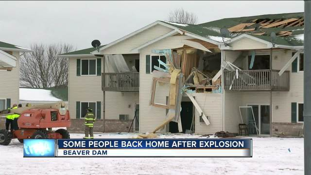 Most tenants return home Wednesday after Beaver Dam explosion