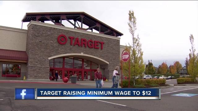 Company 'Targets' a higher wage for its employees
