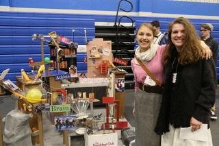 High school Rube Goldberg machine contest