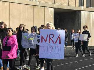 Students walk out across southeast WI [PHOTOS]