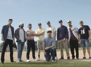 Brewers recreate scene from movie