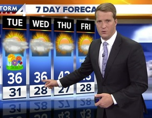 Chilly first day of spring Tuesday