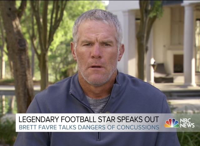 Brett Favre Says He's Had