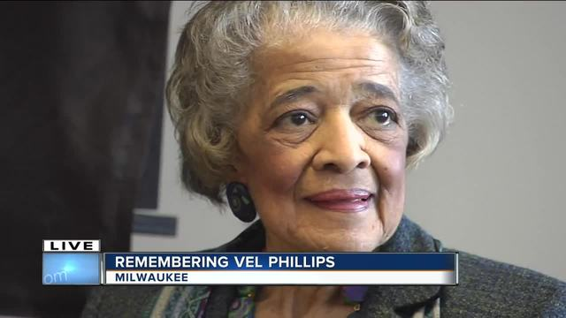 Civil rights leader Vel Phillips dies at 94