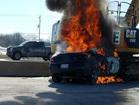 Driver killed in fiery I-94 crash
