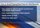 How to Avoid Paying Extra Fees for Vital Records