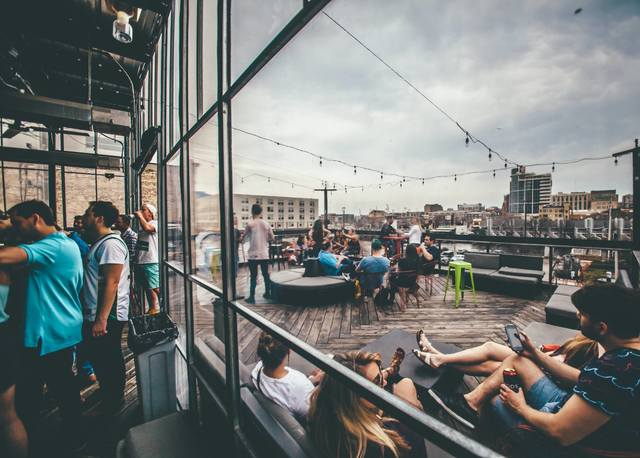 Located On Old World 3rd St This Bar And Restaurant Is The Epitome Of Milwaukee Nightlife Multiple Stories Dance Floor Lead Up To A Rooftop Patio