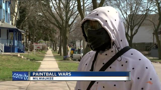 32-year-old Milwaukee man shot in the face in paintball attack