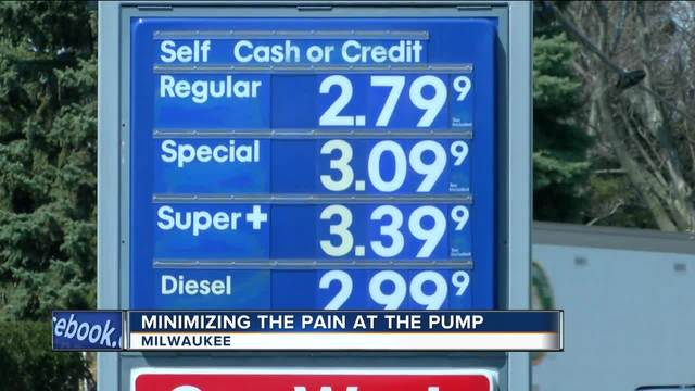 Gas prices up 39 cents from a year ago