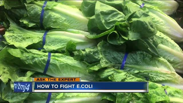1 dead from E. coli outbreak linked to romaine lettuce